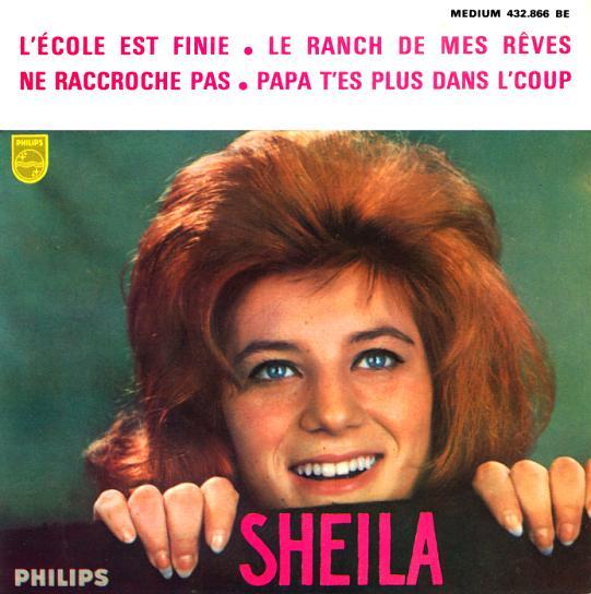 25 : 2EME 45 TOURS-SUPER E.P (13 FÉVRIER 1963) L'ECOLE EST FINIE &