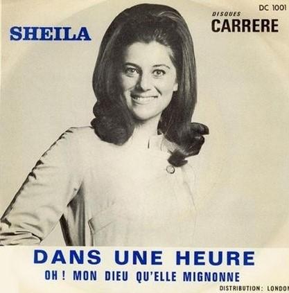 Portrait de Sheila en 1967
