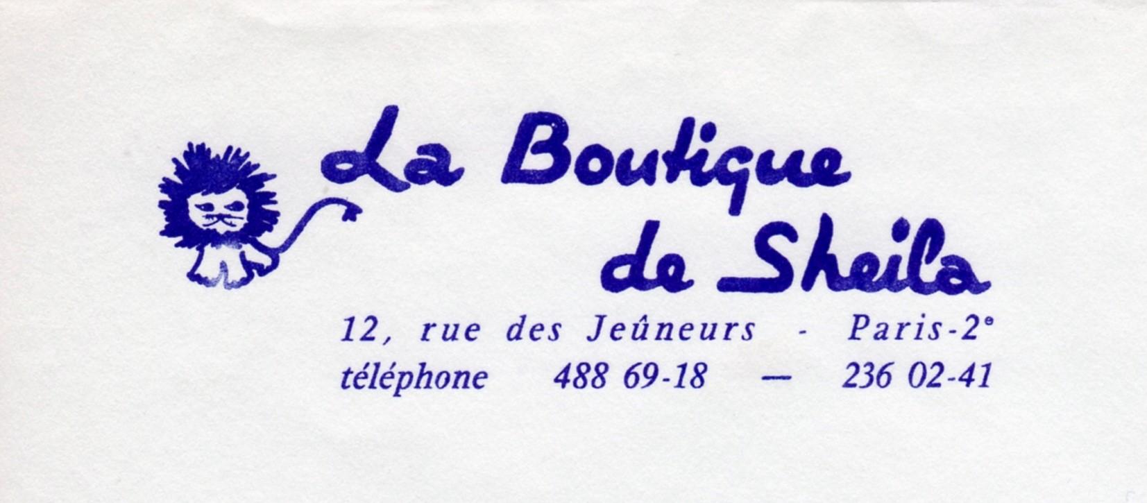 FRANCE - SHEILA