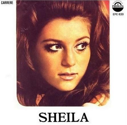 SHEILA AVEC SES PARENTS EN 1965