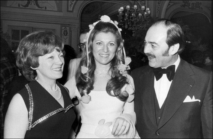 13/02/1973. MARIAGE DE RINGO + SHEILA