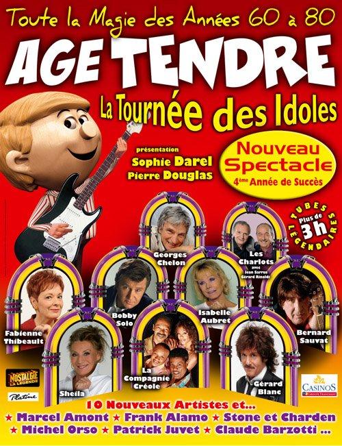 2009 : SHEILA AVEC LA TOURNÉE ÂGE TENDRE ET TÊTES DE BOIS (2009/2010) SAISON 4     20091