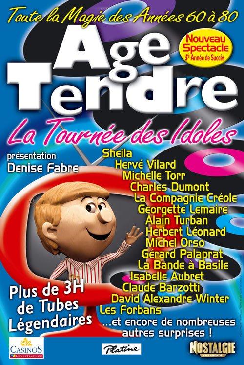 99-73 : SHEILA AVEC LA TOURNÉE ÂGE TENDRE ET TÊTES DE BOIS (2010/2011) SAISON 5   20108