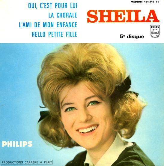 1964 : 5EME 45 TOURS-SUPER E.P