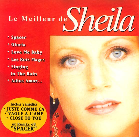 99 98 78eme 45 tours cd 2 titres promo spacer nouvel enregistrement et nouveaux - Nouvelle maison de sheila ...